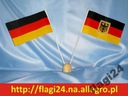 Flaga Niemiecka 17x10cm flagi Niemcy Niemiec