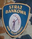Naszywka -Straż Bankowa