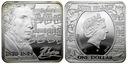 1 Dolar Niue Island 2010 Fryderyk Chopin