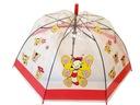 Dziecięca Parasolka Przeźroczysta Gwizdek Czerwona