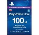 Karta PlayStation Network PSN 100 zł PS3 PS4