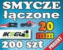 200szt Smycze reklamowe z ŁĄCZNIKIEM 20mm PROJEKT!