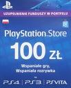 KARTA PLAYSTATION STORE 100 ZŁ NOWA WYS. 24H W-WA