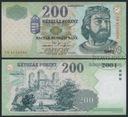 MAX - WĘGRY 200 Forintów 2005 r. # XF