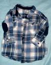 H&m flanelowa kraciasta koszula 80