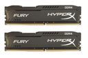 16 GB KINGSTON 2x8GB HYPERX FURY DDR4 2400MHz CL15