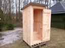 Toaleta drewniana wc budowę działkę szalet nowa