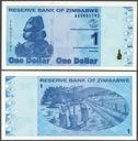 ### ZIMBABWE - P92 - 2009 - 1 DOLAR