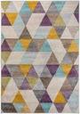 Dywan nowoczesny 180x270 trójkąty kolorowy