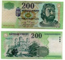 WĘGRY 2001 200 FORINT