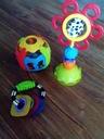 Zabawki dla niemowlaka-8 sztuk + poduszka gratis!