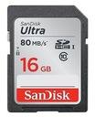 SANDISK ULTRA KARTA PAMIĘCI SDHC 16 GB
