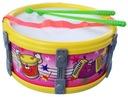 BĘBENEK Zabawka Instrument muzyczny Żółty