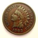 USA - Indian Head Cent 1903 r.