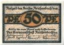 50 pfennig Reichenbach - notgeld Dzierżoniów