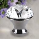 1 Gałka Meblowa Kryształowa Uchwyt Kryształ 30 N