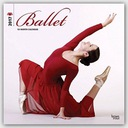 BrownTrout Publishers Ballet 2017 Square Wall Cale