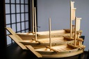 Drewniane łódki do sushi w najlepszej cenie 60cm