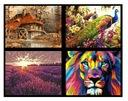 PREZENT Malowanie Po Numerach Twój Obraz 35 WZORÓW