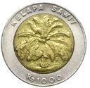 Indonezja - moneta - 1000 Rupii 2000 - BIMETAL