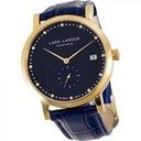 Lars Larsen Women's Quartz Watch with Blue Dial An