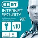ESET INTERNET SECURITY 1 szt. 3 lata wznow. AUTO