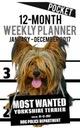 Ironpower Publishing 2017 Pocket Weekly Planner -