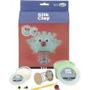 Zestaw kreatywny Silk Clay DIY - zielony potwór