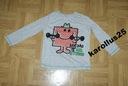 F&F fajna bluzeczka z aplikacją szara 104