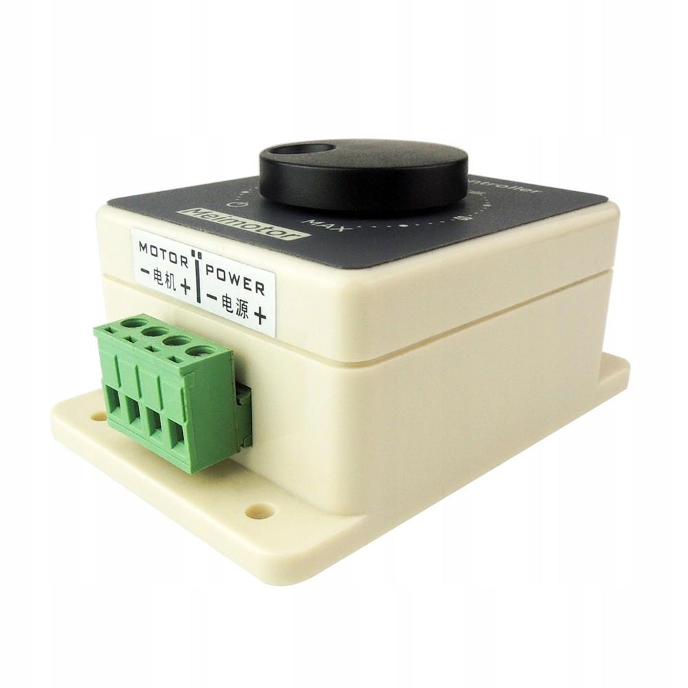 Regulator Obrotów Silnika LED 12V DC 1200W 20A PWM