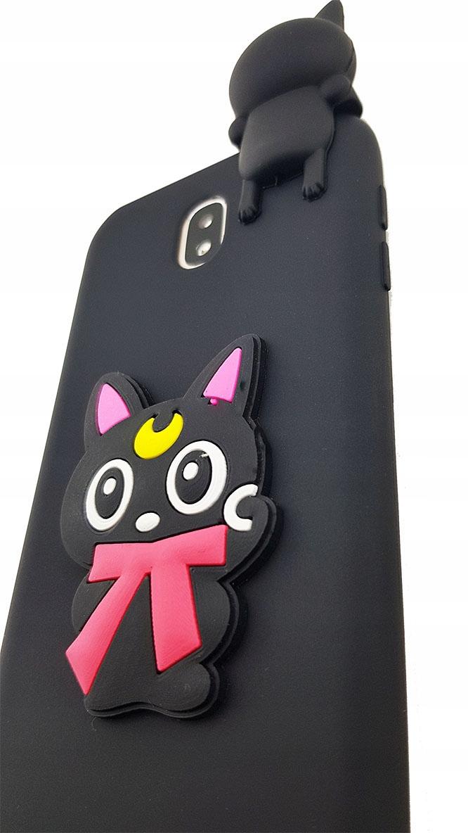 - etui case plecki HTC Desire 12+ Plus KOT NOC | Wyjątkowe etui na telefony - etui-gsm.pl