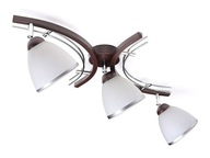 Lampa sufitowa plafon żyrandol 3xE27 klosz kubek
