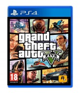 GTA V GRAND THEFT AUTO 5 PS4 po Polsku
