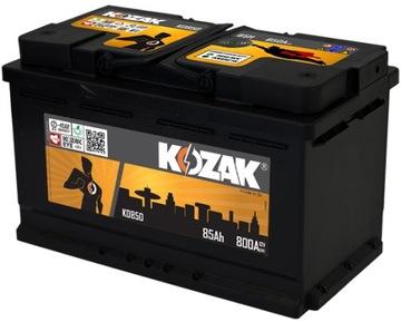 акумулятор kozak ko850 85ah/890a [sae] 85ah - фото