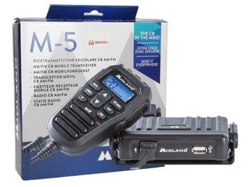 Низкая CB Радио в нагнетателе ręczniak Midland M-5 A7A доставка товаров из Польши и Allegro на русском
