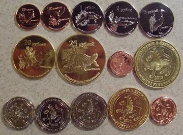 TATARSTAN zestaw 7 monet доставка товаров из Польши и Allegro на русском