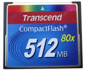 Карта Compact Flash CF 512MB Transcend доставка товаров из Польши и Allegro на русском