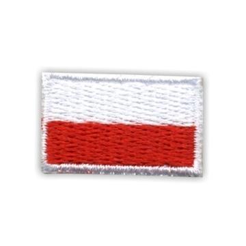 Польша - Полоса Флаг Польский (маленькая 1,5 х 2,5 см) доставка товаров из Польши и Allegro на русском