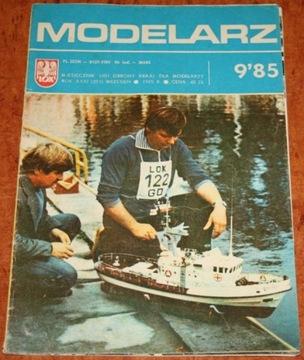 МОДЕЛЬЕРЫ, Ежемесячный 9/1985 доставка товаров из Польши и Allegro на русском