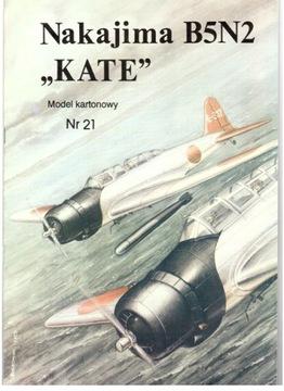 Model Card № 21 Nakajima B5N2