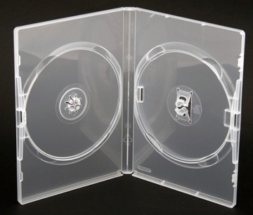Коробки AMARAY CLEAR на 2-х DVD 50 штук 14мм доставка товаров из Польши и Allegro на русском