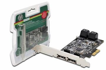 Контроллер SATA III PCI Express PCIe 4xSATA 2xeSATA доставка товаров из Польши и Allegro на русском