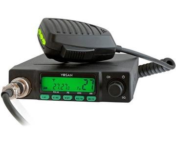 YOSAN CB Радио CB 300 изменение каналов 2xGRATIS ХИТ! доставка товаров из Польши и Allegro на русском