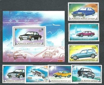 МОНГОЛИЯ АВТОМОБИЛИ 2065-2071+БЛОК 139 доставка товаров из Польши и Allegro на русском