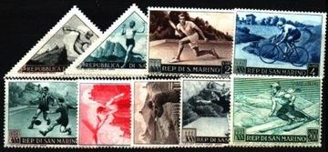Сан-Марино. Мне 493-501 ** - спортивные Соревнования доставка товаров из Польши и Allegro на русском