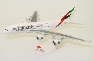 Модель самолета Airbus A380 Emirates 1:250 доставка товаров из Польши и Allegro на русском