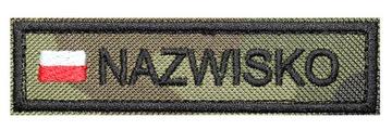 Полоса Имя WZ93 с флагом Name Патч-Форму доставка товаров из Польши и Allegro на русском