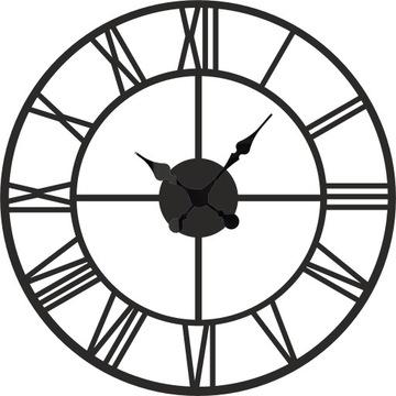 Большой римский настенные часы Винтаж тихий 60 см W23 доставка товаров из Польши и Allegro на русском