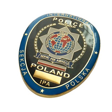 ЗНАЧОК IPA-International Police Association доставка товаров из Польши и Allegro на русском