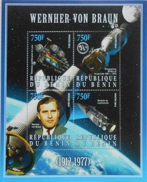 W. von Braun космос Бенин arkusik #BEN14-15 доставка товаров из Польши и Allegro на русском